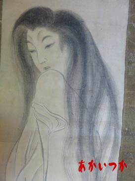 美人幽霊画2