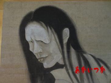 子を抱いた幽霊画4