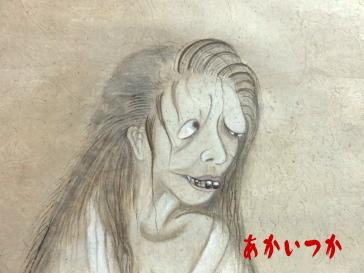 骸骨と幽霊図2