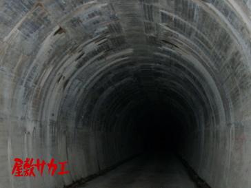 朝鮮トンネル(二股トンネル)屋敷サカエ3