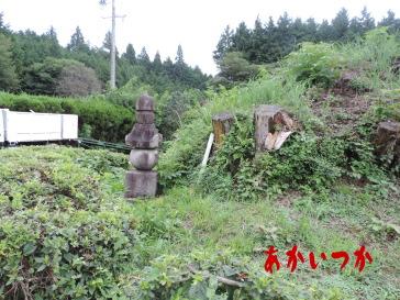 打杭峠の経塚2