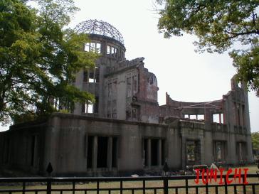 産業奨励館(原爆ドーム)JUNICHI4
