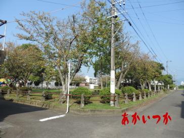 古城児童公園(八代処刑場跡)