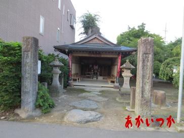 五個地蔵(中野陣屋処刑場跡)