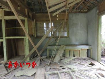 嵐山の廃墟8