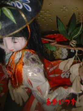 髪の毛の伸びる人形5