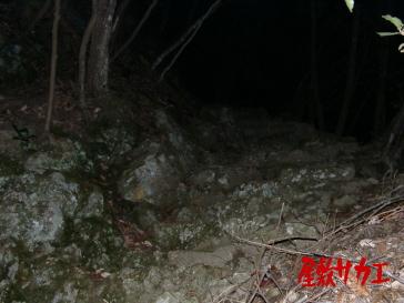 蓮台寺鉱山跡2